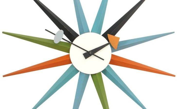 Sunburst Clock George Nelson Longer Available
