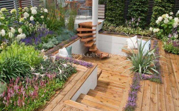 Sunken Patio Designs Deck Levels Coloredcarbon