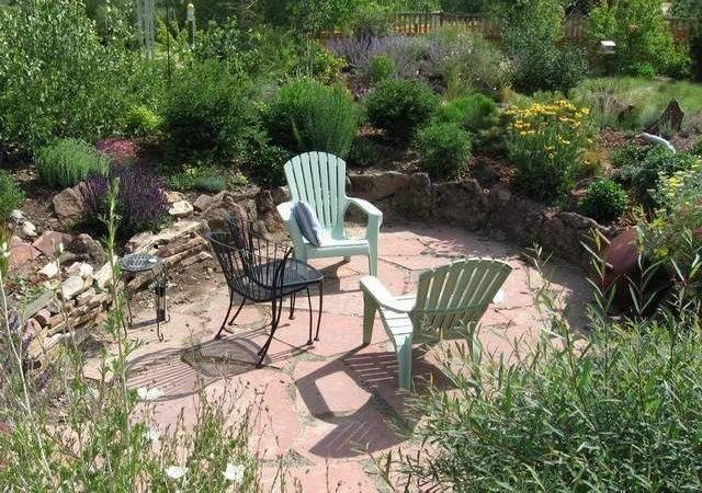 Sunken Patio Ideas Garden Renovation Pinterest