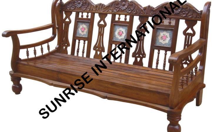 Sunrise International Wooden Sofa Sets Shade Set