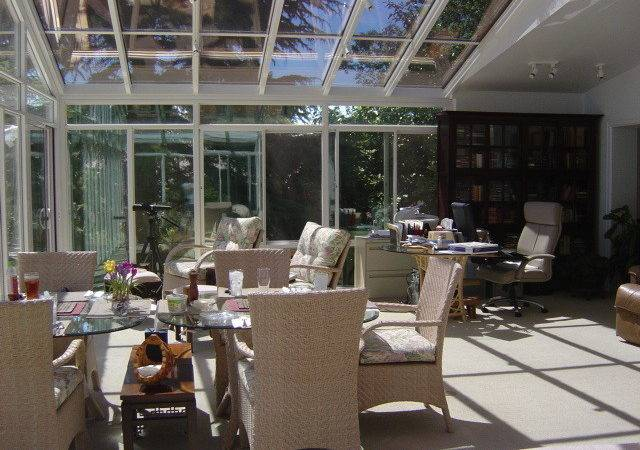 Sunroom Addition Clinton Home Office Seattle Sun Spaces