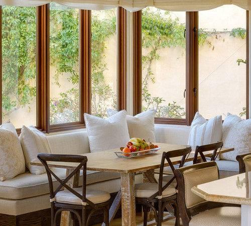 Sunroom Breakfast Nook Home Design Ideas Remodel Decor