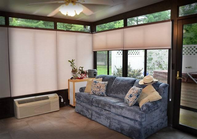Sunroom Cellular Honeycombs Modern Window Treatments Other