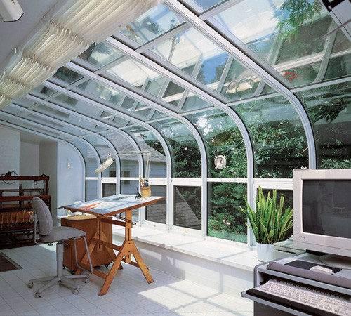 Sunroom Home Office Ideas Sunquest Inc Maryland