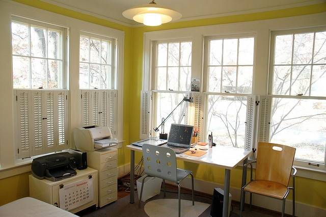 Sunroom Office After Kbreenbo Via Flickr