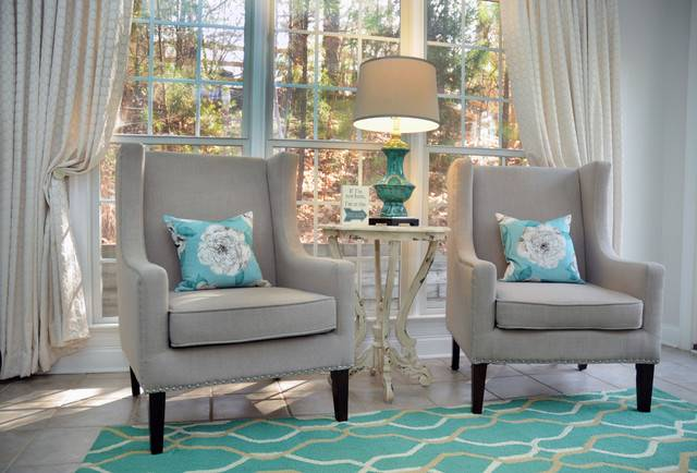 Sunroom Office Farmhouse Home Charlotte Lesley Young