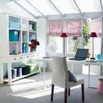 Sunroom Office Home Heart Pinterest