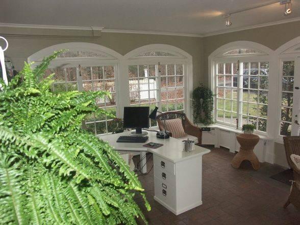 Sunroom Office Indoor Inspiration Rooms Pinterest