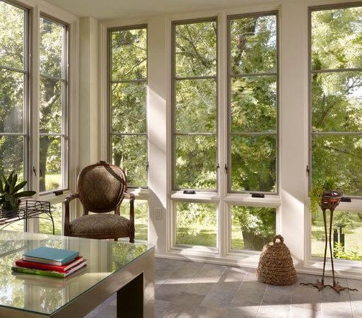 Sunroom Office Traditional Home Philadelphia Krieger