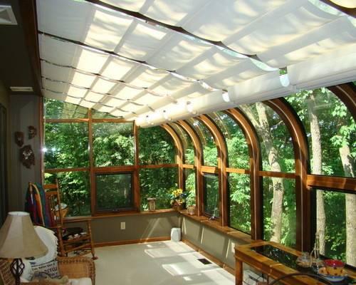 Sunroom Shades Thermal Designs Inc Window Treatments