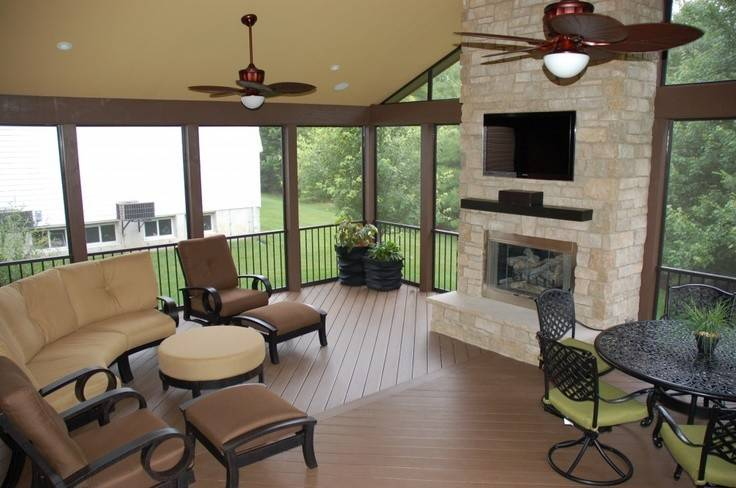 Sunrooms Fireplaces Google Search Sunroom Addition Pintere