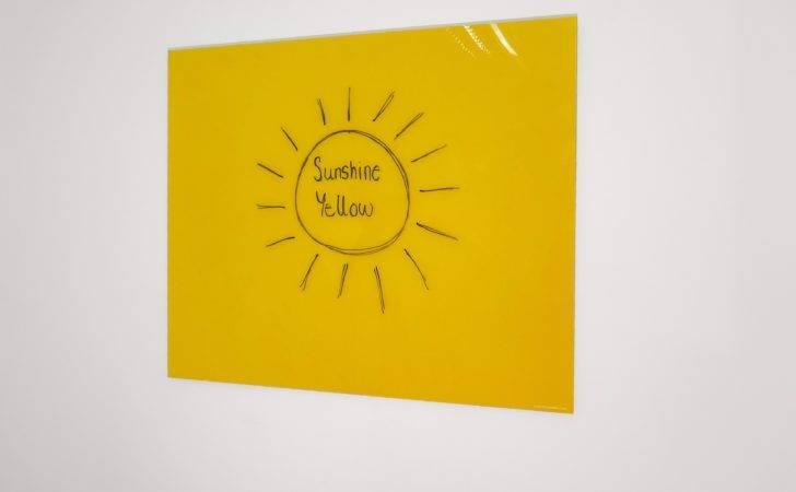 Sunshine Yellow Generated Glass Wipe Board Company