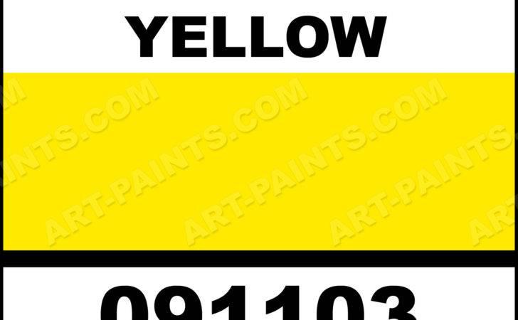 Sunshine Yellow Natures Hue Acrylic Paints
