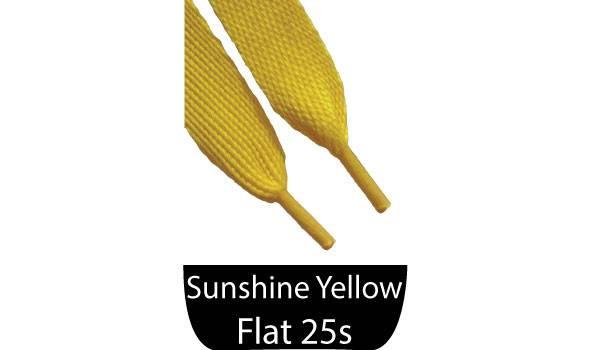 Sunshine Yellow Shoelaces Shoe Lace Companythe Company