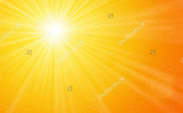 Sunshine Yellow Sunny Sun Light Bright Warm Orange Sky