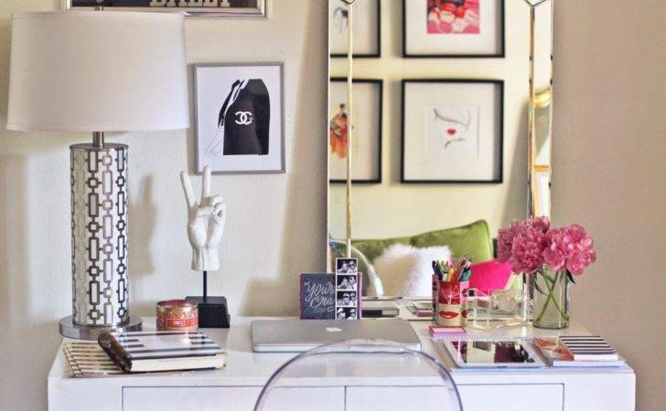 Super Chic Ways Decorate Your Desk Porch Advice