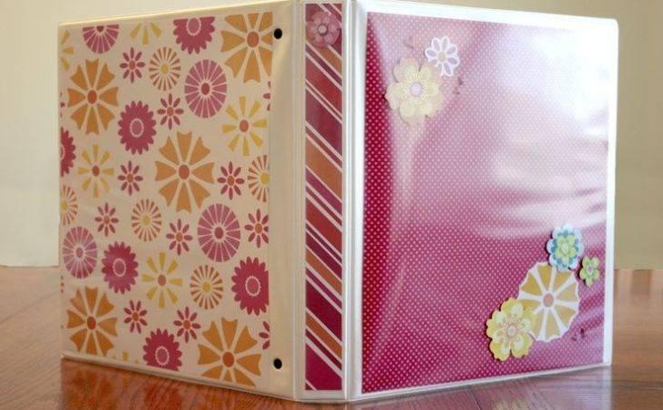 Super Cute Way Decorate Cover Recipe Binder