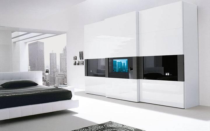 Super Modern Bedroom Wardrobe Built Door Digsdigs