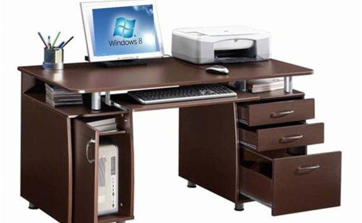 Super Storage Home Office Computer Desk Ebay