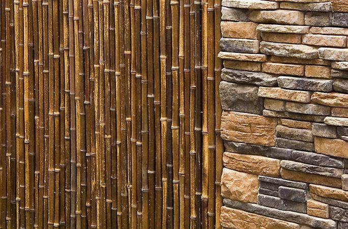 Superb Bamboo Fence Decorating Ideas Landscape Asian Design
