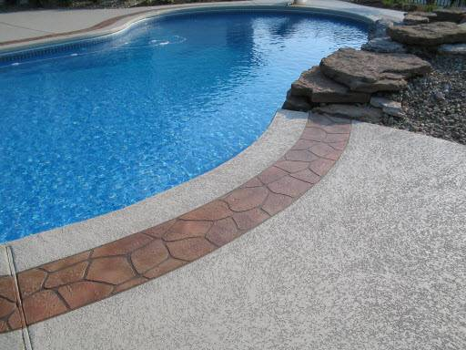 Superb Concrete Coatings Pool Decks Textured Deck