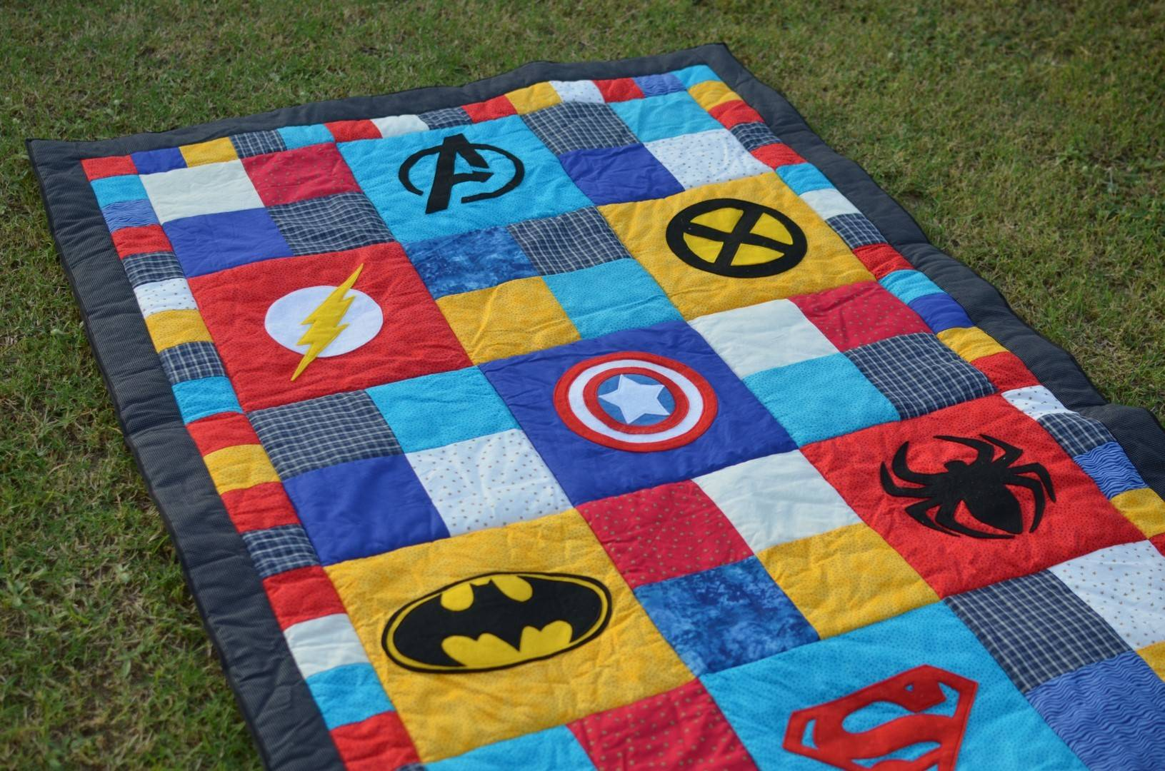 Superhero Quilt Joyful Mum