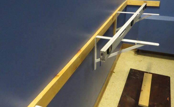 Sure All Three Brackets Level Floating Desk Sit Flat