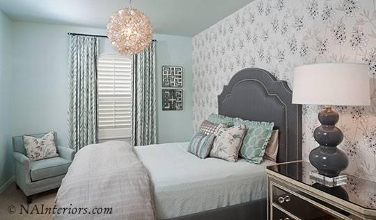 Surfaces Help Add Visual Interest Monochromatic Room Design