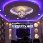 Suspended Ceiling Lights Living Room False Lighting Ideas