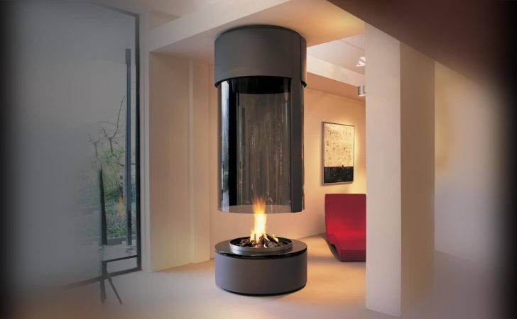 Suspended Fireplace Hanging
