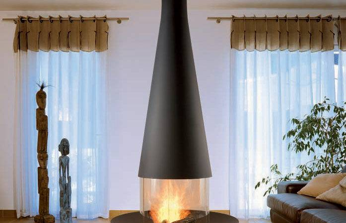 Suspended Fireplace Models