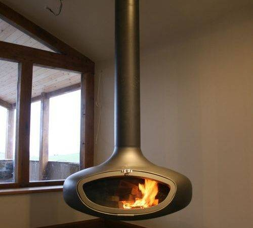 Suspended Stoves Fires Fire Hanging