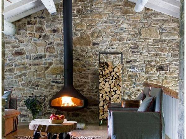 Suspended Wood Burner Google Search Future House Pinterest