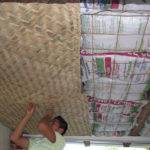 Sustainable Architecture Using Earthbags Ceiling Insulation
