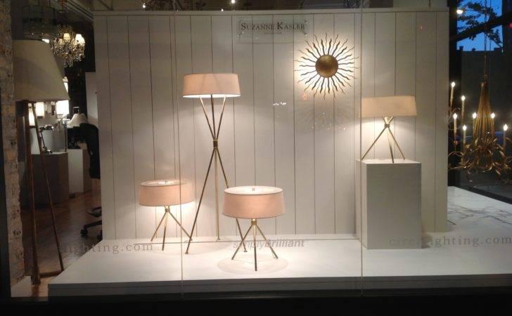 Suzanne Kasler Window Featuring Thornton Floor Lamp