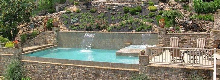 Swim Exercise Spa Endless Combo Designs Pool Firepit Gunite