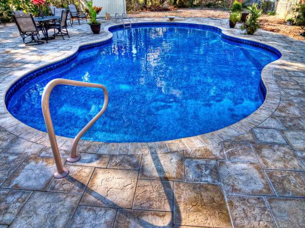 Swimming Pool Builder New Bern Fiberglass Pools Concrete