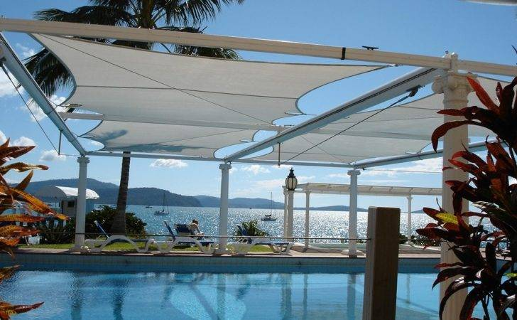 Swimming Pool Canopy Great Accessory Own Helps Shade