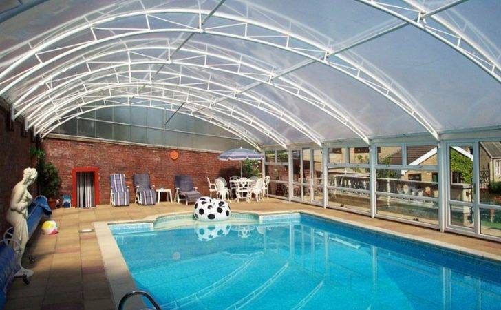 Swimming Pool Canopy Structures