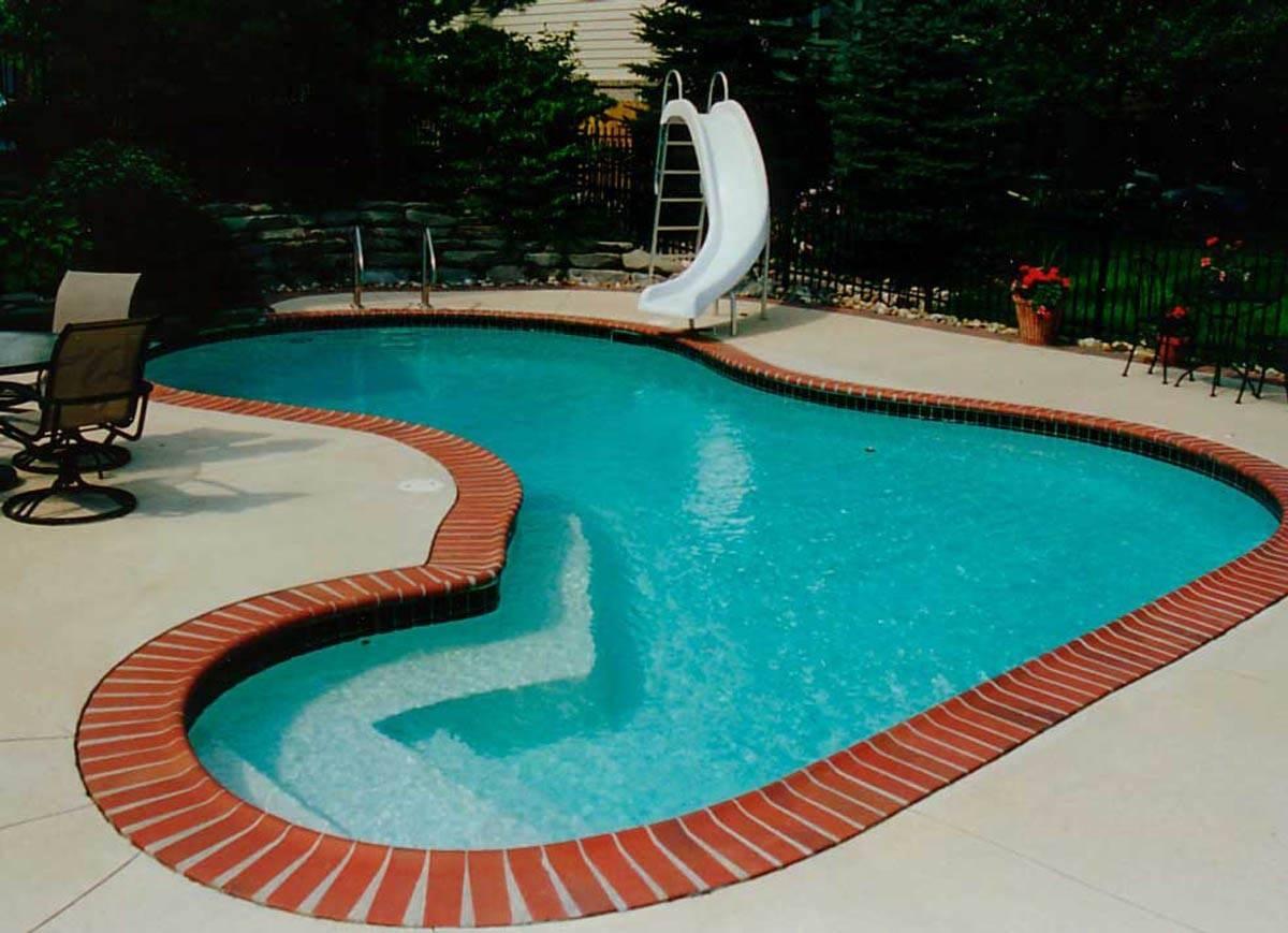 Swimming Pool Coping Ideas Backyard Design