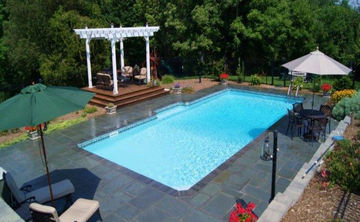 Swimming Pool Designs Small Yards Rectangle