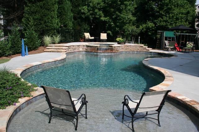 Swimming Pool Designs Traditional Atlanta Douglas