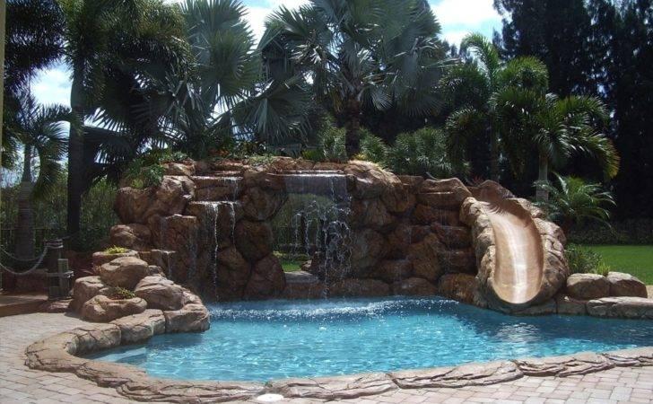 Swimming Pool Designs Waterfalls Pools Nice