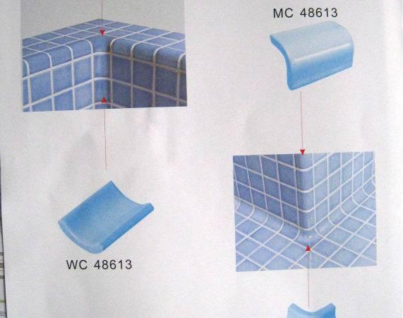Swimming Pool Internal Trim Corner Tile Buy