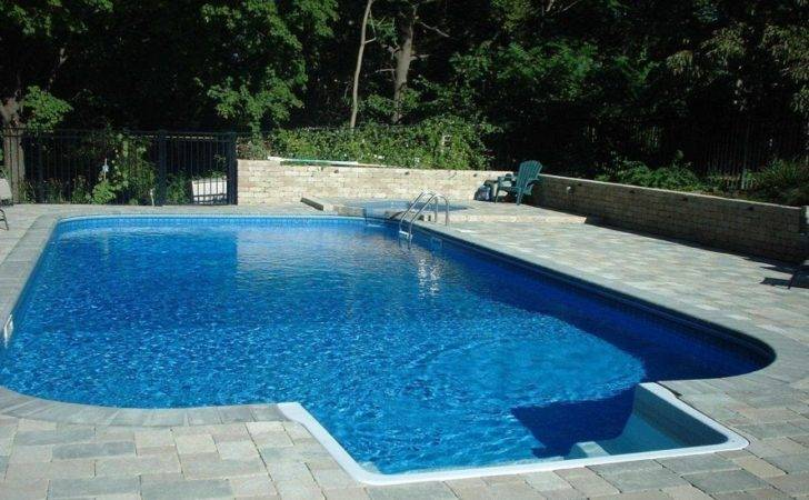 Swimming Pool Kits Design Ultra Modern Four Small Fountains