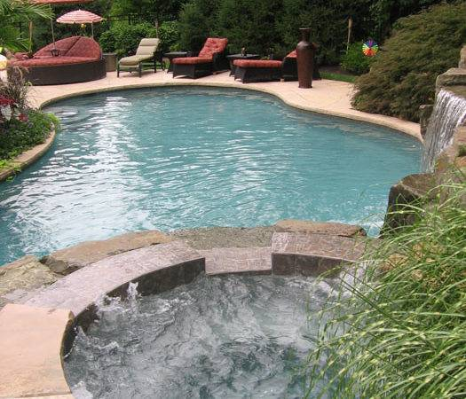 Swimming Pool Landscaping Ideas Inground Pools Design
