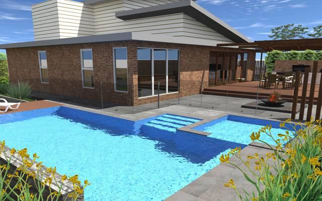 Swimming Pool Landscaping Landscape Design