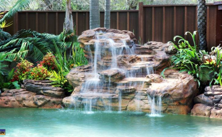 Swimming Pool Rock Waterfalls Kits Fountains Boulders
