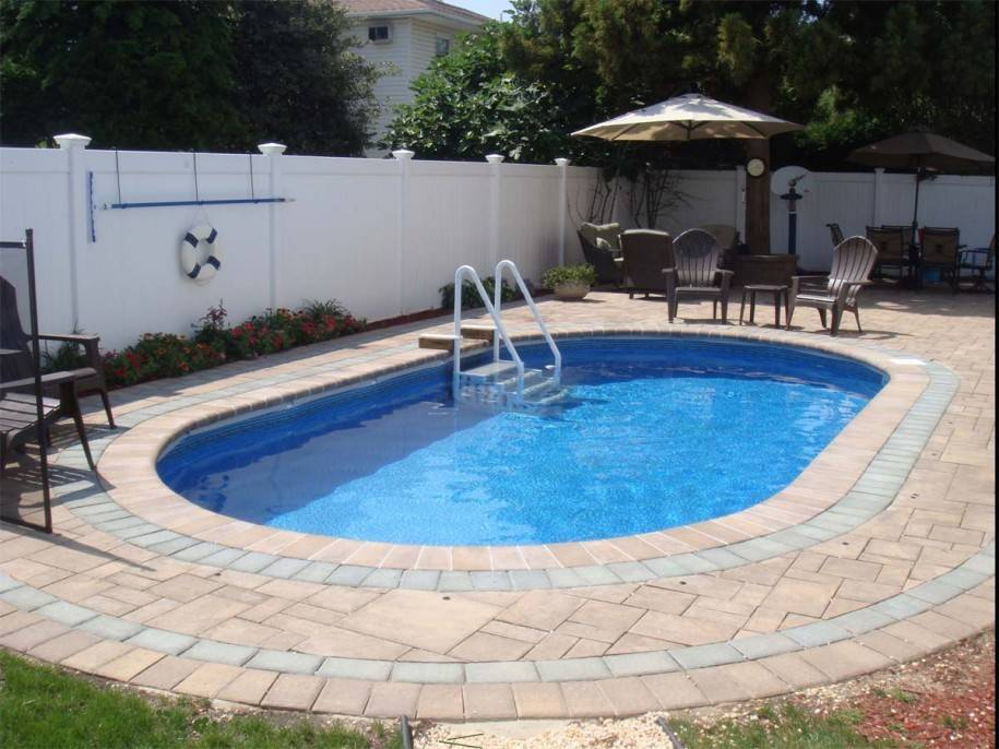 Swimming Pool Semi Inground Pools Your Magnificent Backyard