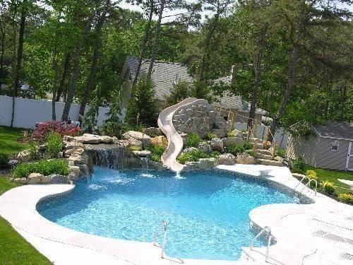Swimming Pool Slides Designs Home